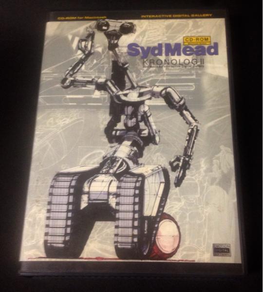 即決 シド ミード クロノログⅡ ブレードランナー Macintosh Syd Mead
