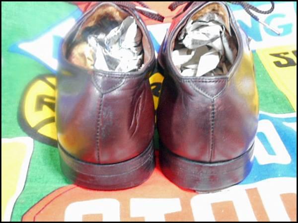 ★美品なコンディション★Made in USA製アメリカ製WrightライトビンテージYチップレザーシューズドレスシューズ革靴短靴50年代60年代50s60s_画像3