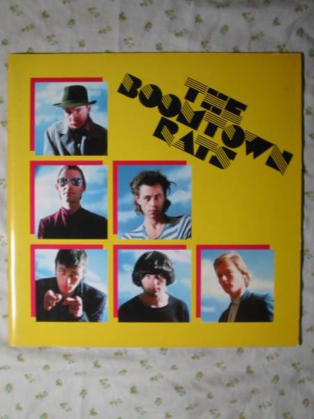 パンフ【 the boomtown rats 】 1981年