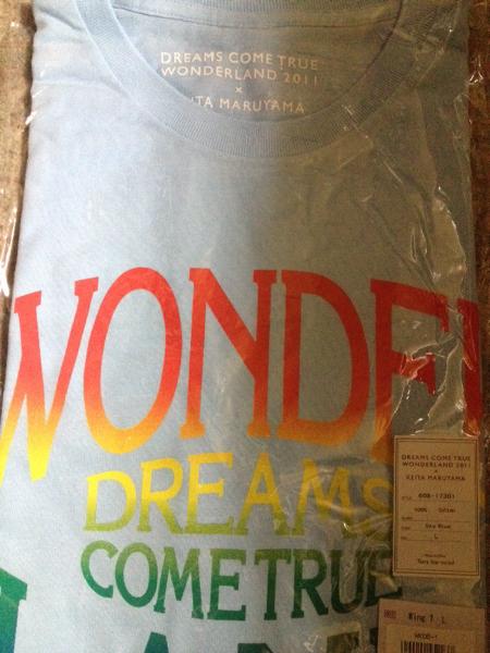 ドリカム ワンダーランド 2011 Tシャツ グッズ 新品