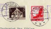 1937年 ドイツ◆第6回地方自治体会議 航空 実逓封書◆i-38