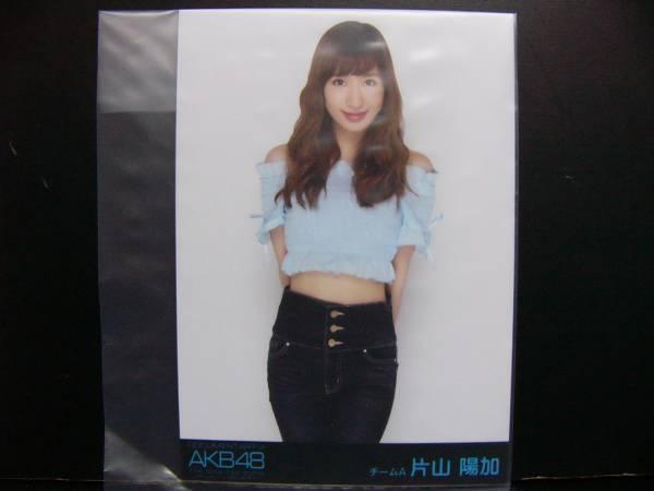 DOCUMENTARY of AKB48 エディション DVD 生写真 片山陽加②黒帯 ライブ・総選挙グッズの画像