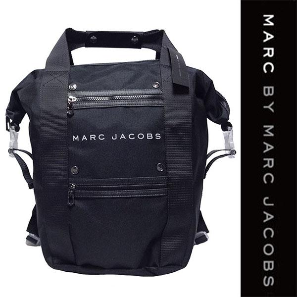 新品 MARC BY MARC JACOBS BACKPACK マーク バイ マーク ジェイコブス バックパック リュック デイパック ブラック 2WAY 正規品 入手困難 4