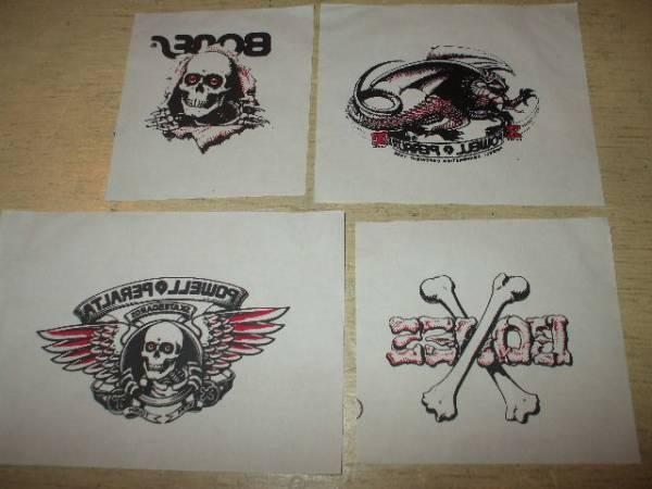 デッドストック 80年代 POWELL テンポラリー タトゥー