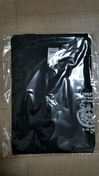 ken yokoyama Tシャツ L 横山 健 武道館 PIZZA OF DEATH VANS ライブグッズの画像