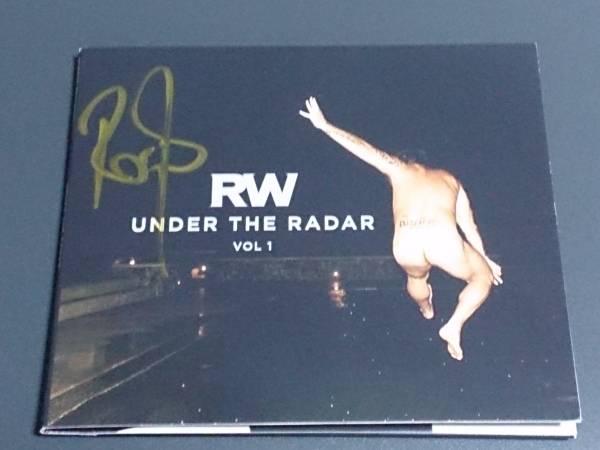 ロビー・ウィリアムス(Robbie Williams)直筆サイン入CD