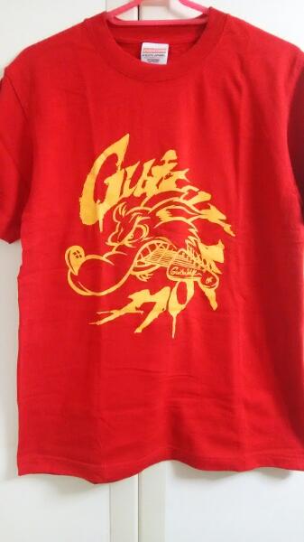 GUITAR WOLF★Tシャツ赤 Sサイズ★ギターウルフ ①