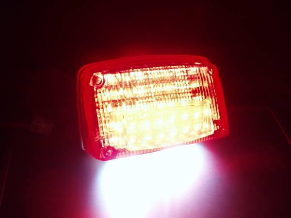 *GSX1100/750S カタナ 刀 LEDテールランプユニット S2-B_実装しての発光写真です。