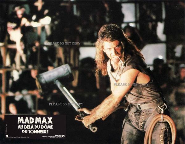1985年 マッドマックス/サンダードーム ロビーカード 3枚 付き