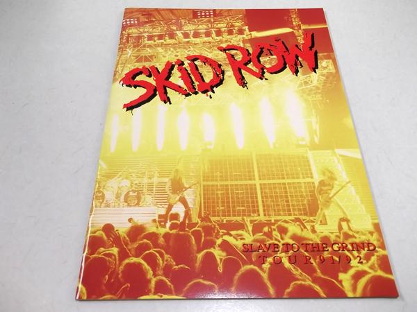 ◇スキッド・ロウ★SKID ROW【 91/92 ツアーパンフ 】美品♪