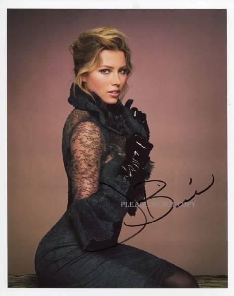 Jessica Biel ジェシカ・ビール サイン フォト 他1枚写真付き