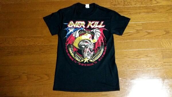 OVERKILL北米ツアーテキサス限定Tシャツ!KREATOR.ANTHRAX