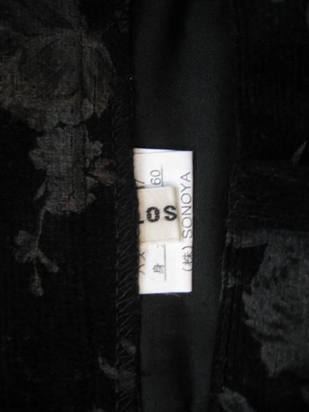 【良品!】●CLOSE.UP/クローズアップ●花柄コーデュロイスカート_画像3