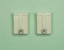新品:網戸外れ止め・トステム用ホワイト(FNMS152)【入数2個】