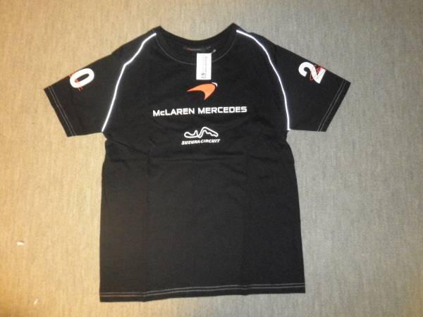 F1 マクラーレンメルセデス 鈴鹿サーキット Tシャツ 男性M 即決_画像1