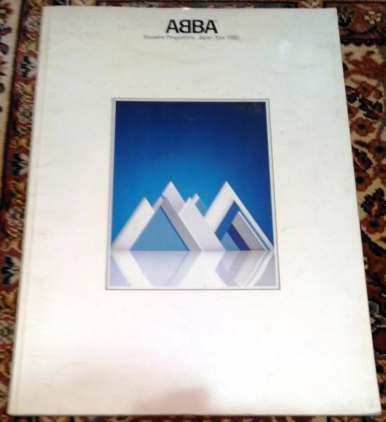 アバ 1980年日本公演ツアーパンフ★ABBA SWEDEN ディスコ
