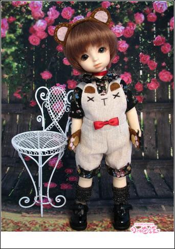 【小猫汪】幼SD男の子用お洋服5点セット _画像1