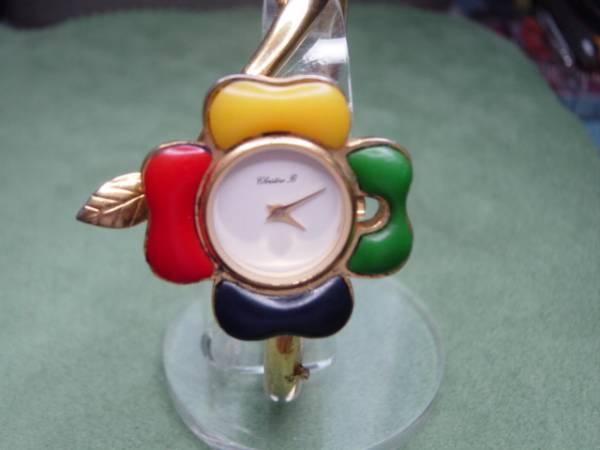 珍品 デザイン CHRISTINE 、B 女性用腕時計 ブレスレッド型_画像1