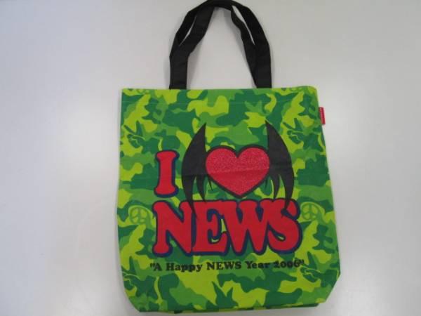 【良品!】★NEWS★A HAPPY NEWS YEAR 2006 トートバッグ