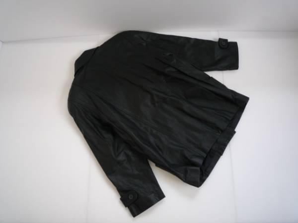 値下げ!【お買い得!!】 ◆ BRUGE ◆ 長袖ジャケット 黒色 牛革 L_画像2