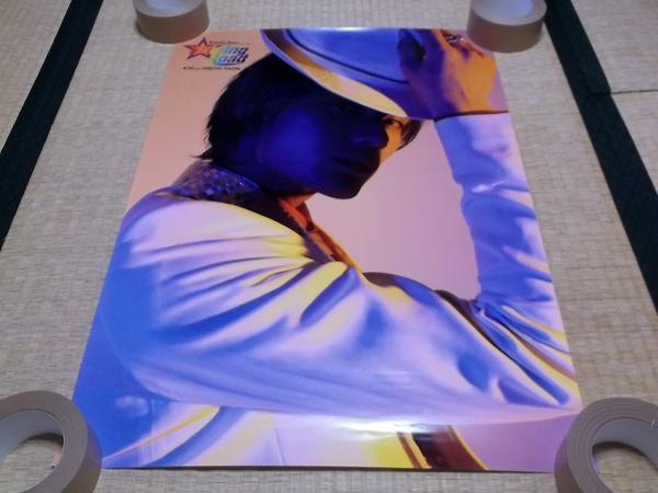○ 加藤和樹 【 2009 日比谷野音 ★ ポスター 】美品♪帽子姿 ライブグッズの画像
