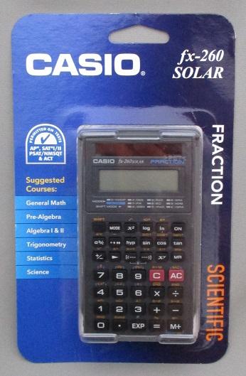 ★2個セット特価★【CASIO fx-260 SOLAR】 大人気 関数電卓