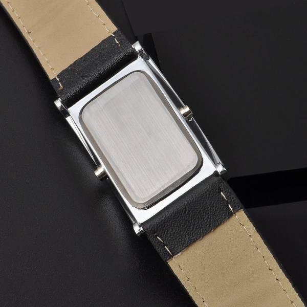 LEDデジタルウォッチ メンズ 生活防水 見やすい大画面液晶 腕時計 薄型液晶_画像3