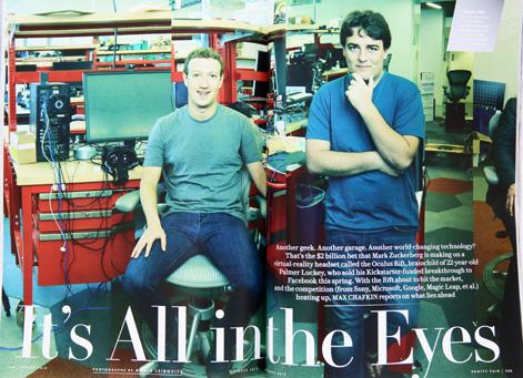 VANITY FAIR誌  2015年10月号 facebookマーク・ザッカーバーグ マイク・ニコルズ_画像2