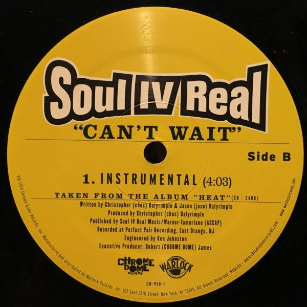 T wait for real can soul [SOUL/FUNK]~NM FOR