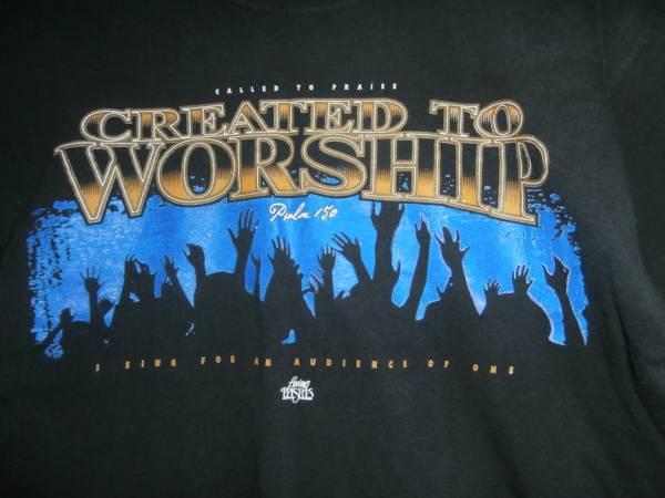 ★70s80sンテージCREATED TO WORSHIP