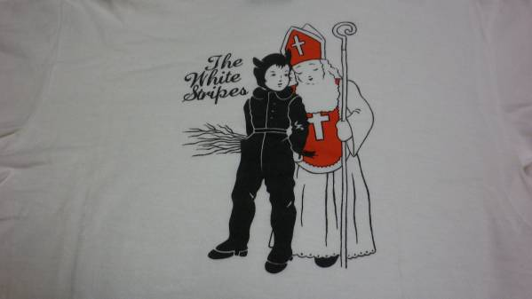 ホワイトストライプス ジャックホワイト ライブ購入Tシャツ サイスS