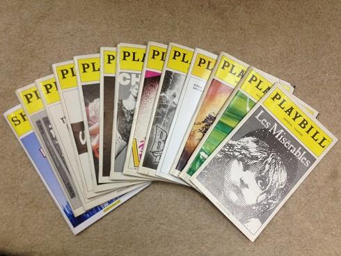 【本場NY】PLAYBILL ブロードウェイ 13冊 まとめて シカゴなど