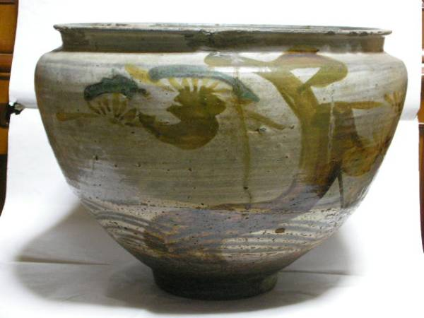 古唐津 初期 弓野の甕 本歌です U63-3