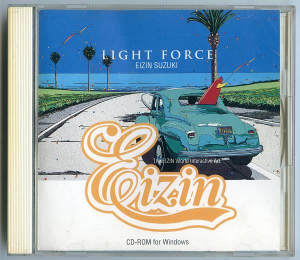 """""""送料無料""""  鈴木英人 """" LIGHT FORCE"""" CD-ROM for Windows_画像1"""