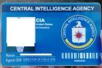 ClA/アメリカ中央情報局 カスタムIDカード 貴方のお写真と名前で専門会社が作成