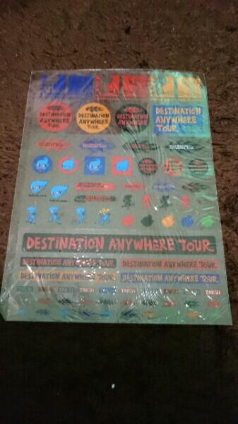 ◆ TAKUI 中島卓偉 ステッカー 【 使用箇所あり 】 シール ライブ 2002 タクイ グッズ ツアー tour