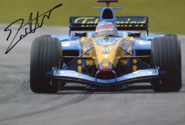2006 Formula One ジャック・ヴィルヌーヴ サイン フォト 他、大きなフォト1枚付き