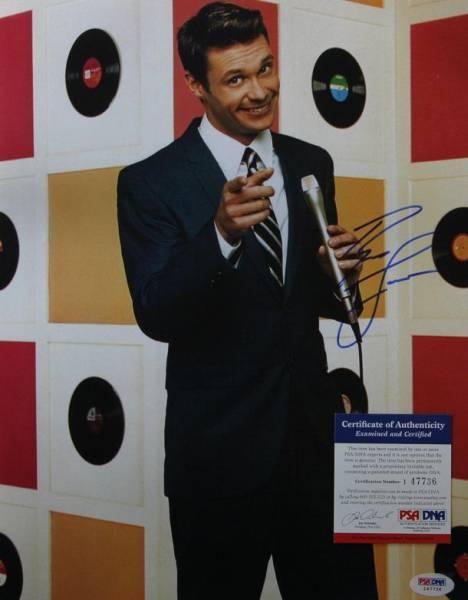 PSA/DNA☆ライアン・シークレスト American Idol 本物直筆サイン
