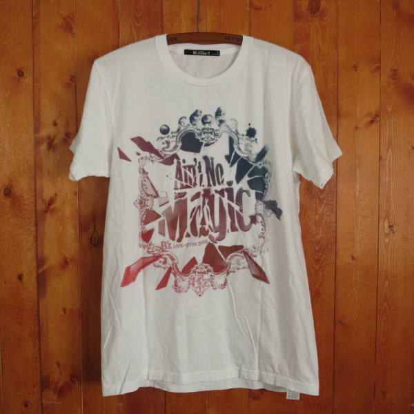 B'z LIVE-GYM 2010 Ain't No Magic Tシャツ M