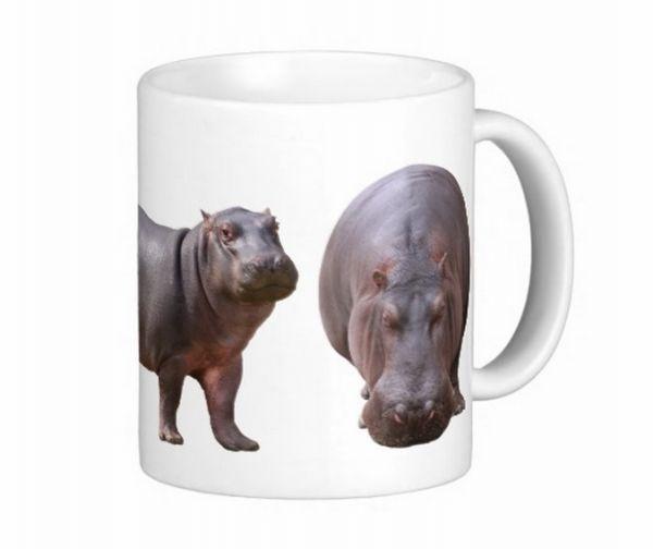 カバのマグカップ_カバのマグカップ。激珍なマグカップです