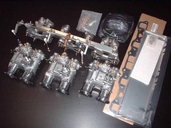 【1セット限定大特価】ハコスカ Z ケンメリ L型 L28系 OER45ΦキャブレターKIT ヒートプレート付き☆_画像1
