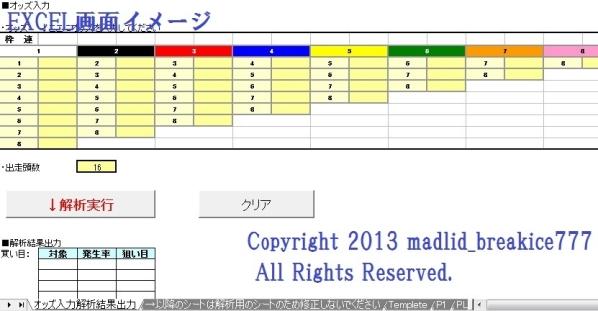 ★競馬 統計解析買い目選定オリジナルソフト「K-PIXシステム」★_画像2