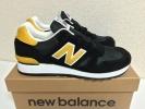 New Balance M670SMK 黒×黄 27cm UK製 ブラック m576m996m1300