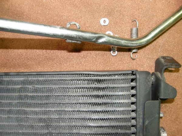 ベンツW124 500E エンジンオイルクーラー中古セット2_画像2