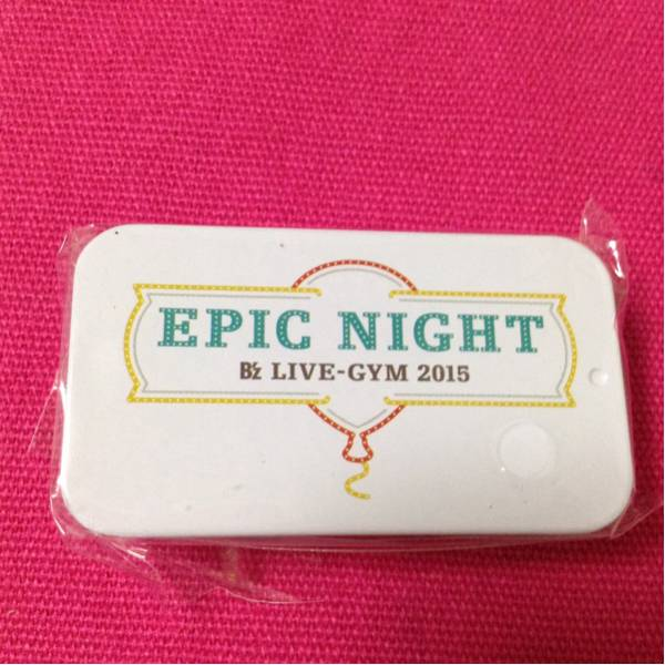 B'z live-gym EPIC NIGHT ガチャ タブレットケース 白