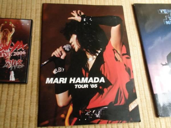 浜田麻里 MARI HAMADA TOUR '85 パンフレット