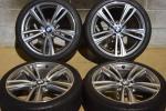 【希少良好】BMW F32 4シリーズ クーペ Mスポーツ 純正 19in ダブルスポーク スタイリング442M BS ポテンザS001 BMW承認 ランフラット F30