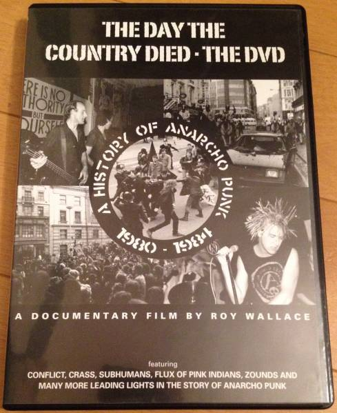 history of anarcho punk dvd / crust amebix crass conflict グッズの画像