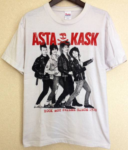 ASTA KASK Tシャツ / punk crust pogo anticimex discharge