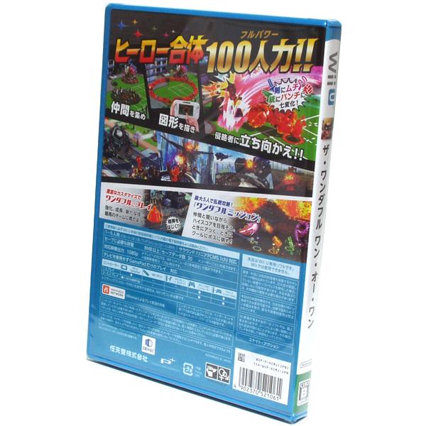 ■【新品未開封】The Wonderful 101 ザ ワンダフル ワンオーワン Wii U プラチナゲームズ ■_画像3